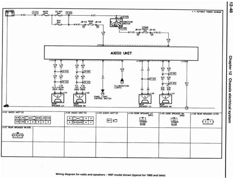 1997 Mazda Protege Radio Wiring Diagram by Mazda Car Radio Stereo Audio Wiring Diagram Autoradio