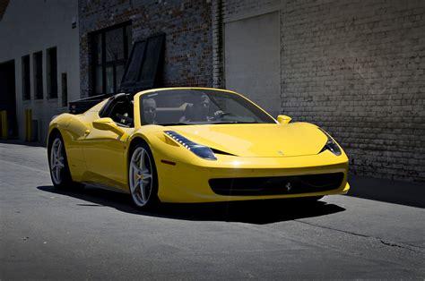 Your destination for buying ferrari. File:Yellow Ferrari 458 Italia Spider.jpg - Wikimedia Commons