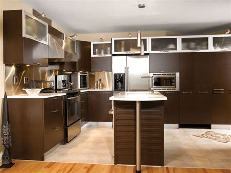marron cuisine chantier cuisine marron