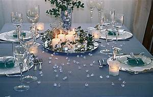 Tischdekoration Zu Weihnachten : tischdeko weihnachten silber blau ~ Michelbontemps.com Haus und Dekorationen