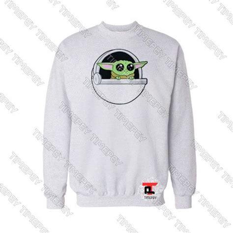 The Child Mando Sweatshirt Baby Yoda Star Wars Size S ...