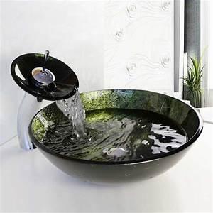 Waschbecken Kleines Badezimmer : waschtisch kleines bad mit waschbecken rund glas komplett mit glas wasserhahn gestaltung f r ~ Sanjose-hotels-ca.com Haus und Dekorationen