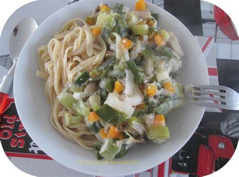cuisiner du poisson blanc poisson au vin blanc petits légumes et tagliatelles