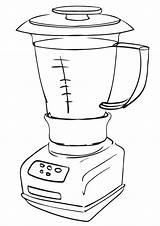 Appliances Coloring sketch template