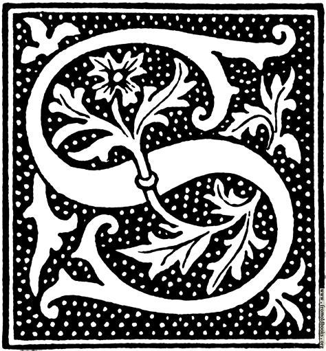clipart initial letter   beginning    century