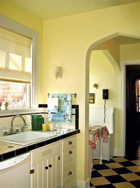 retro kitchen   budget  house restoration