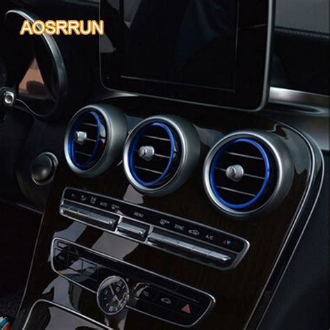 Available as both a wagon and sedan, the c class slotted right in the lineup, taking. cover car accessories FOR Mercedes Benz C Class W205 modified air conditioning outlet decoration ...