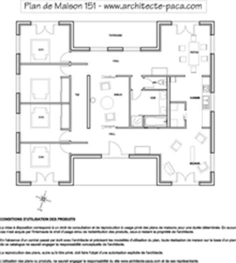 plan maison plein pied moderne sandage plan de maison plein pied