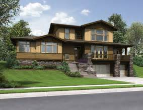 sloped lot house plans 301 moved permanently
