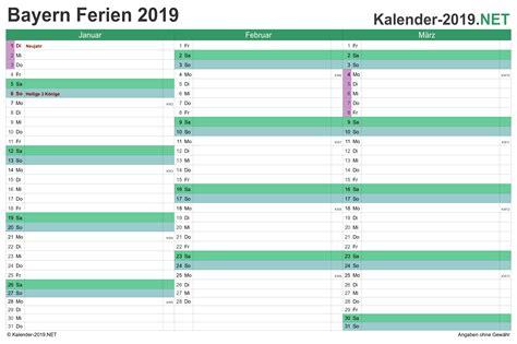 bayern sommerferien 2019 ferien bayern 2019 ferienkalender 220 bersicht