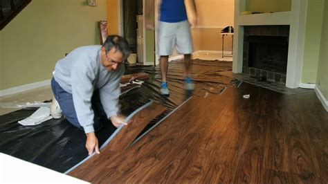 Small Kitchen Spaces Ideas - flooring installation timelapse