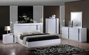 Modern White Bedroom Sets Modern White Bed Vg77 Modern