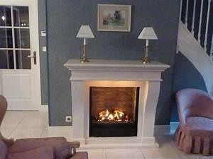 Cheminée En Brique : insert lectrique mystic fires mf1610h avec fond en brique ~ Farleysfitness.com Idées de Décoration