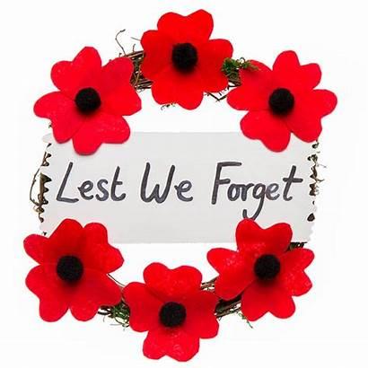 Craft Poppy Remembrance Wreath Crafts Veterans Memorial