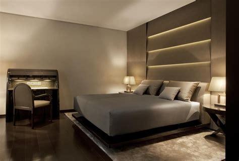 armani hotel milano  chambres  coucher style