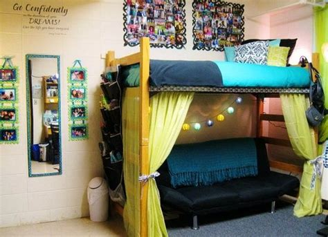 smartly things bed fan great girls dorm room inspirations dig this design