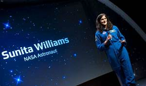 NASA astronaut Sunita Williams trains with gen-next ...