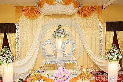 Malay Wedding Stage Royalty Free Stock Image Image: 28587696