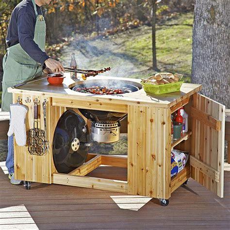 images  bbq cart plans  pinterest
