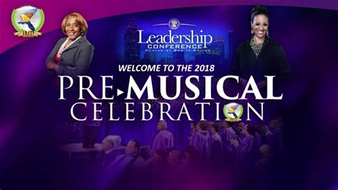 cogic  leadership conference pre musical youtube