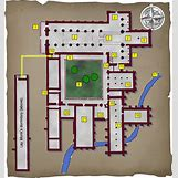 Medieval Monastery Layout | 620 x 660 png 476kB