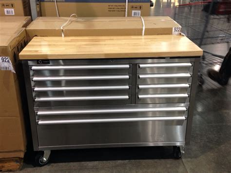 tool box  costco trinity  stainless steel tool box