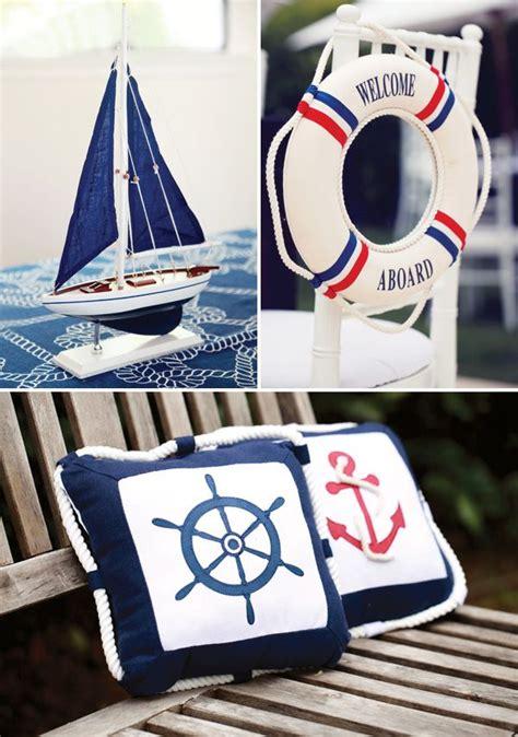 Rustic & Elegant Nautical Baby Shower  Nautical Party
