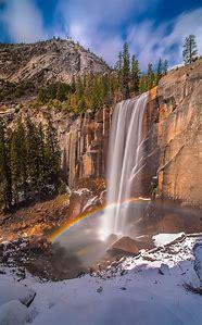 Yosemite Vernal Falls Rainbow