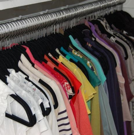 Color Coded Closet by Best 25 Color Coded Closet Ideas On Color