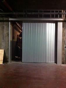 Porte De Garage Sectionnelle Latérale : porte de garage sectionnelle lat rale install e nice 06 nice cannes 06 ~ Melissatoandfro.com Idées de Décoration
