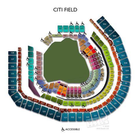 seating chart  guide  citi field  vivid seats