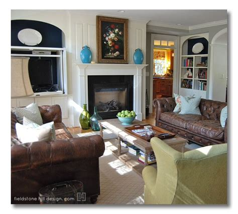 brown and aqua living room decor aqua and brown living room living rooms