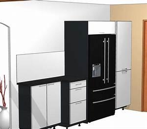 Frigo Encastrable Dimension : dimension meuble frigo cuisine ~ Premium-room.com Idées de Décoration