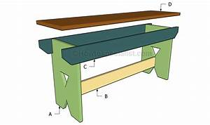 Simple bench plans | HowToSpecialist - How to Build, Step ...