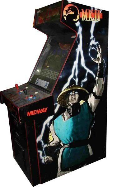 mortal kombat 2 arcade machine gallery