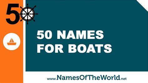 Boat Names Starting With A by 50 Boat Names The Best Names For Your Boat Www