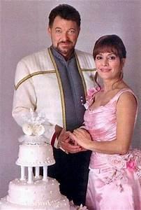 starfleet intelligence file wedding holophotograph of With star trek wedding dress