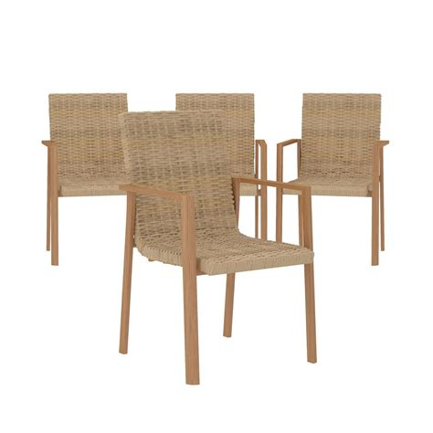 cosco outdoor furniture stacking dining patio chairs 4