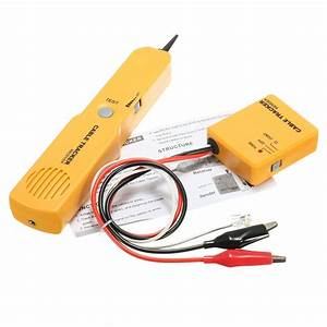 Telephone Line Finder Rj11 Wire Tracker Network Break