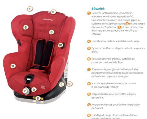 siege auto bebe confort safe side bebe confort siège auto iséos isofix gr 1 achat vente