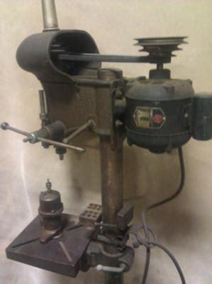 walker turner standing drill press