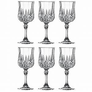 Verre En Cristal Prix : set de 6 verres vin 17 cl longchamp 9295214 achat vente verre sur ~ Teatrodelosmanantiales.com Idées de Décoration