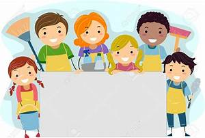 Cleaning with kids clipart - BBCpersian7 collections