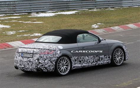 New Five Pot Audi Spied Roadster Trim