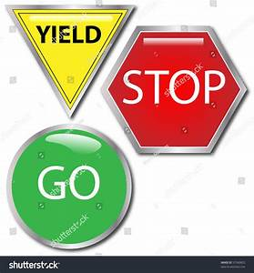 Stop And Go : vector image stop go yield sign stock vector 57340825 shutterstock ~ Medecine-chirurgie-esthetiques.com Avis de Voitures