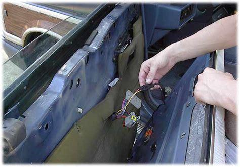 chrysler plymouth  dodge minivan window repairs