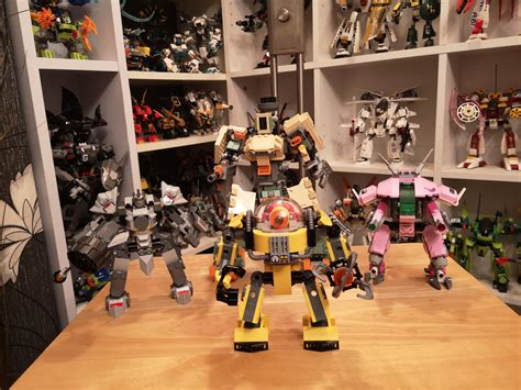 1st builds of the new year mech army expands lego