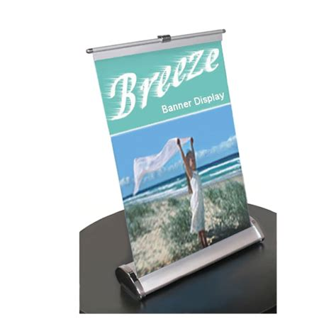 table top banner display table top banner stand breeze 11x18 anything display