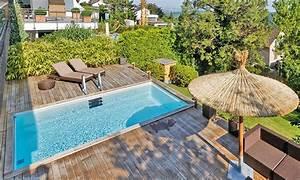 aussenpool neues vergnugen pool magazin With französischer balkon mit garten pool fertigbecken