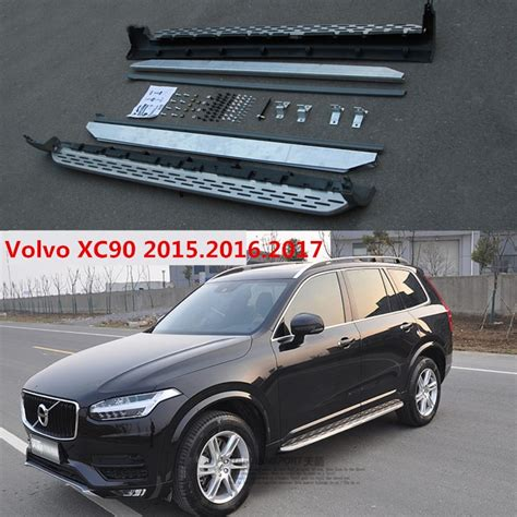 xc running boards auto side step bar pedals  volvo